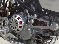 Customized Multistrada engine